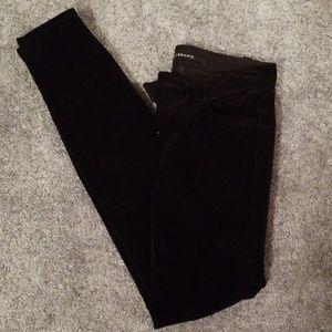 Brand new Jbrand corduroy black skinny pants